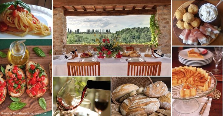 Al Fresco Dining in Tuscany: the setting is as incredible as the food...