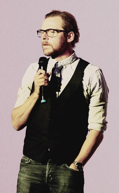 Simon Pegg...ridiculous ❤
