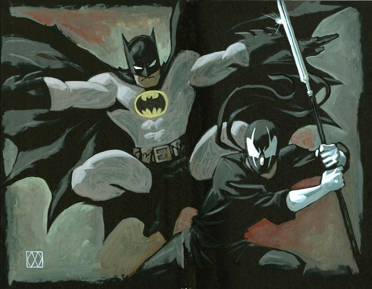 Batman and Grendel by Matt Wagner