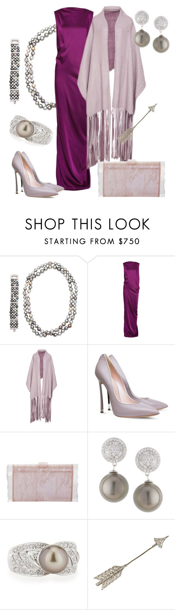 The Queen's Scholarship Gala by queenalex on Polyvore featuring мода, STELLA McCARTNEY, Casadei, Edie Parker, Belpearl and Johanna Ortiz