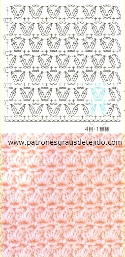 Esquema Crochet Punto #25