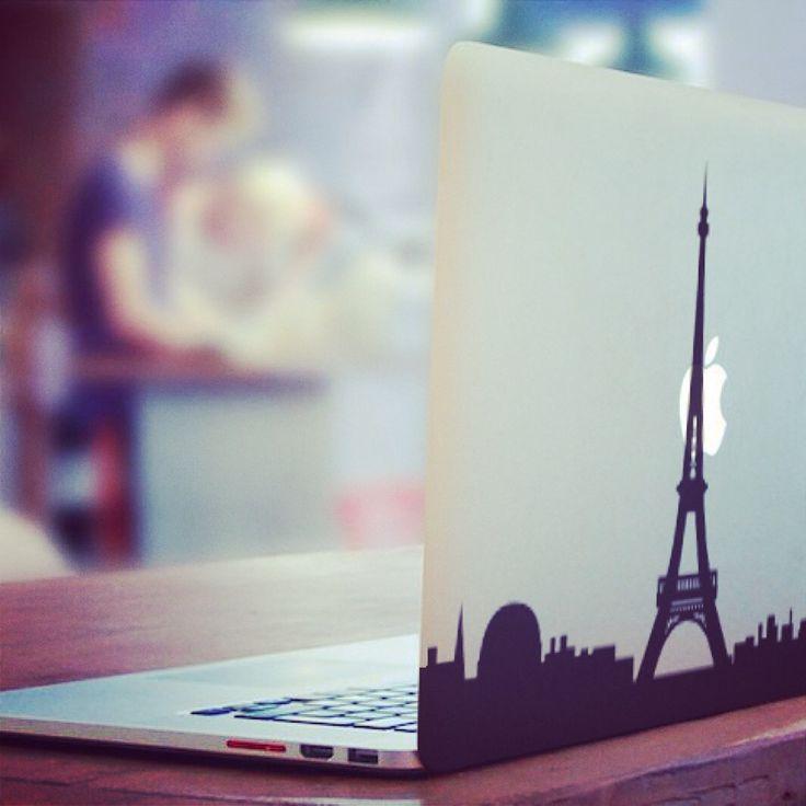 #decal #sticker #vinyl #adhesive #geek #gadget #paris #holiday #travel #apple #macbook #travel #style  http://bit.ly/DecalParis