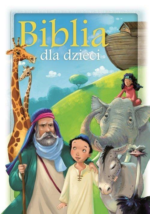 Biblia dla dzieci Zielona Sowa.Księgarnia internetowa Czytam.pl