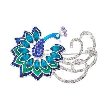 Napier Fancy Peacock Pin