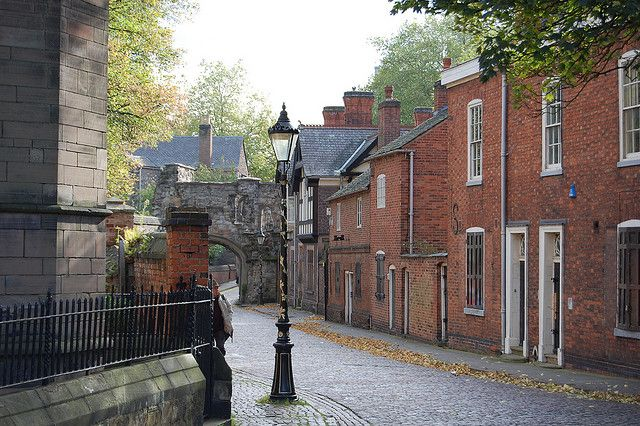 Leicester Castle area by wushih0658, via Flickr