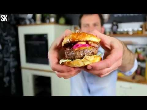 Így kell otthon hamburgert sütni - YouTube