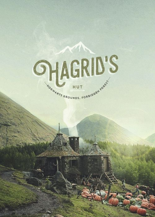 Hogwarts locations - Hagrid's Hut