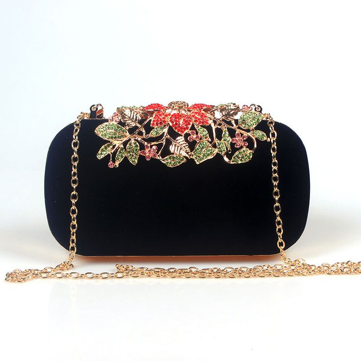 Statement Clutch - Wilde Roses Floral Bag by VIDA VIDA