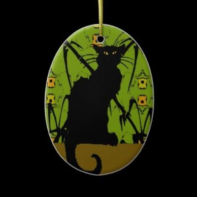 black cat bamboo ceramic ornament | Zazzle.com | Abstract HD Wallpapers 8