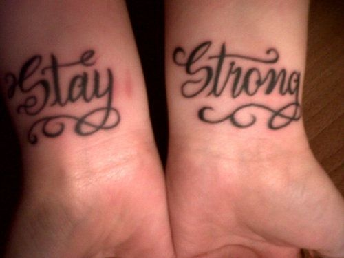 17 best ideas about stay strong tattoos on pinterest use of semicolon strong tattoos and. Black Bedroom Furniture Sets. Home Design Ideas