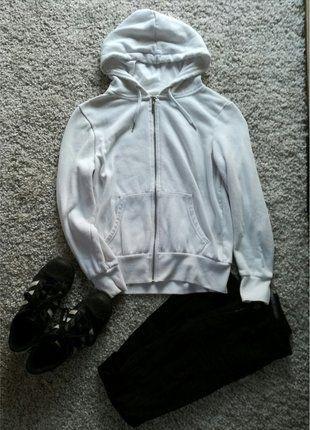 Kup mój przedmiot na #vintedpl http://www.vinted.pl/damska-odziez/bluzy/16118760-biala-bluza-z-kapturem