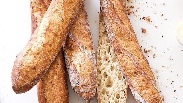 Most American baguettes are doughy and pale, and the recipes we found weren't much better. To get it right, we went to Paris to learn from the masters.