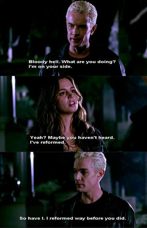 BTVS Spike and Faith