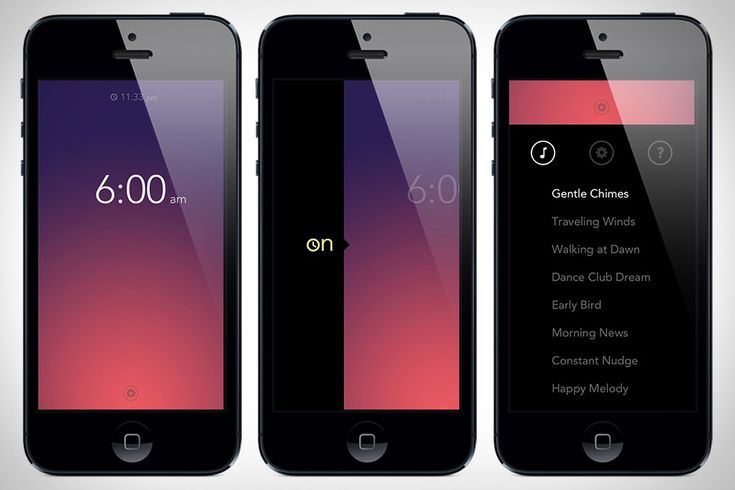 Rise |  This replacement for Apple's serviceable built-in alarm replaces the bland aesthetic of the stock app with a clean, inviting interface that has you swipe up and down to set the alarm time, swipe right to turn it on, and swipe upwards to choose things like your wakeup sound or playlist. ( $2 ) Available on the App store now.