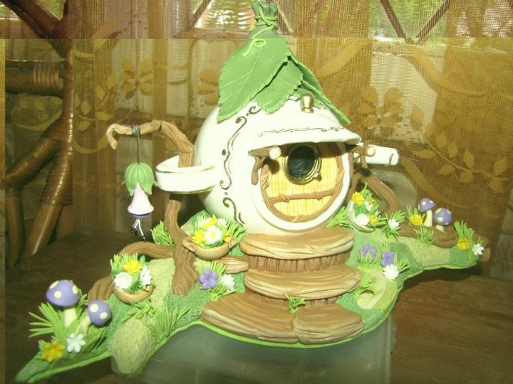 The 144 Best Images About Cakes Tinkerbell Fairies On