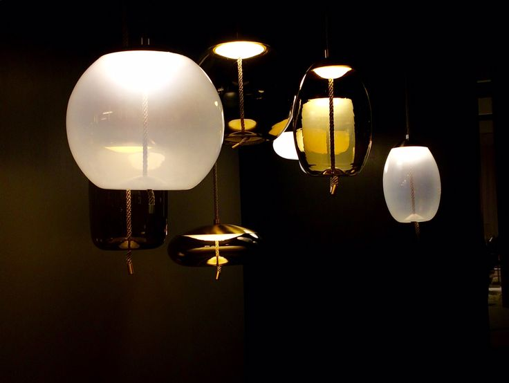 Brokis - Lights - Interior - Design. KNOT by Chiaramonte Marin  Visit us at @Interieur_be  ! Hall 4, Stand 442 Kortrijk Xpo, Belgium 14-23 October 2016
