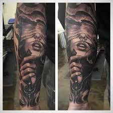 Resultado de imagen para lady justice tattoo design
