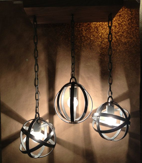 Awesome Three Sphere Light By Iron Owl Company Great For