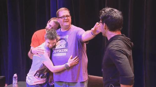 This is soooo cute!! // Markiplier and Friends Panel @ PAXS Prime