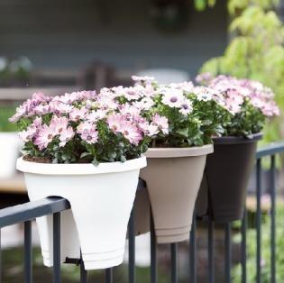 Reling bloempotten voor balkon