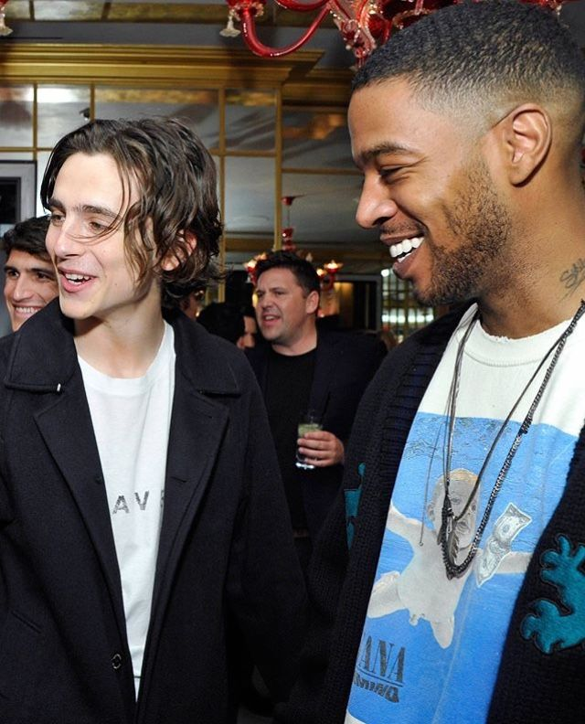 Timmy and Kid Cudi | GQ x Oliver Peoples Celebrating March Cover Star Timothée Chalamet