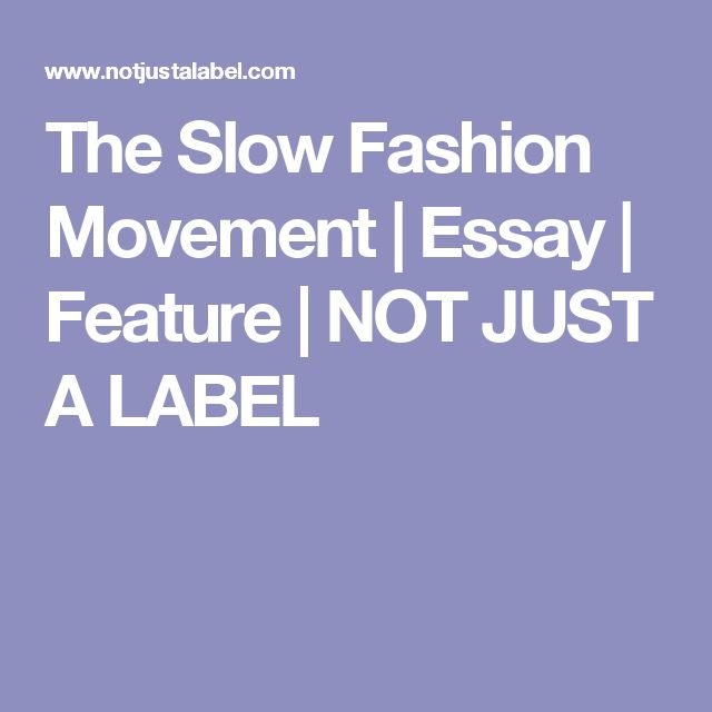 Research papers fashion essay