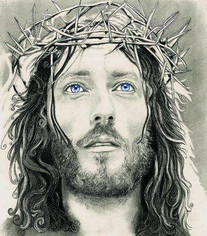 desenho realista do rosto de jesus cristo - Pesquisa Google                                                                                                                                                                                 More