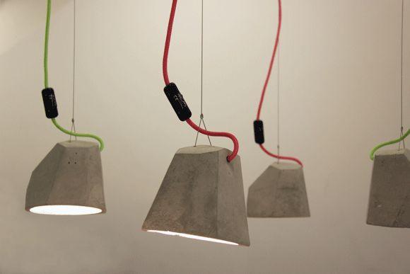 Concrete Pendant Lamps — Lokolo