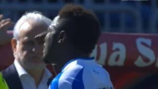 Toyin Adebayo's Blog: Sulley Muntari Walks off the pitch after his compl...
