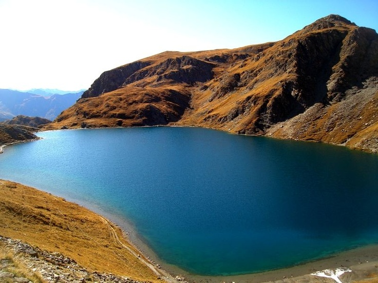 Le lac du grand Laus dans le Queyras
