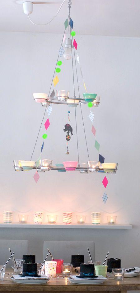 Wundersch n gemacht zirkus kindergeburtstag for Zirkus dekoration