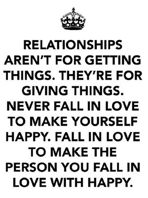 Let's face it: Falling in love is easy, but staying in love requires work. Romantic or platonic, her