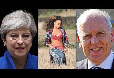 DUP politician once caught Rihanna running through his wheat field
