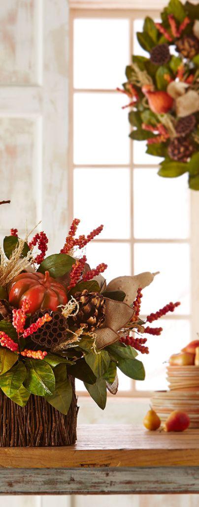 Pumpkin pillar holders fall decor pinterest
