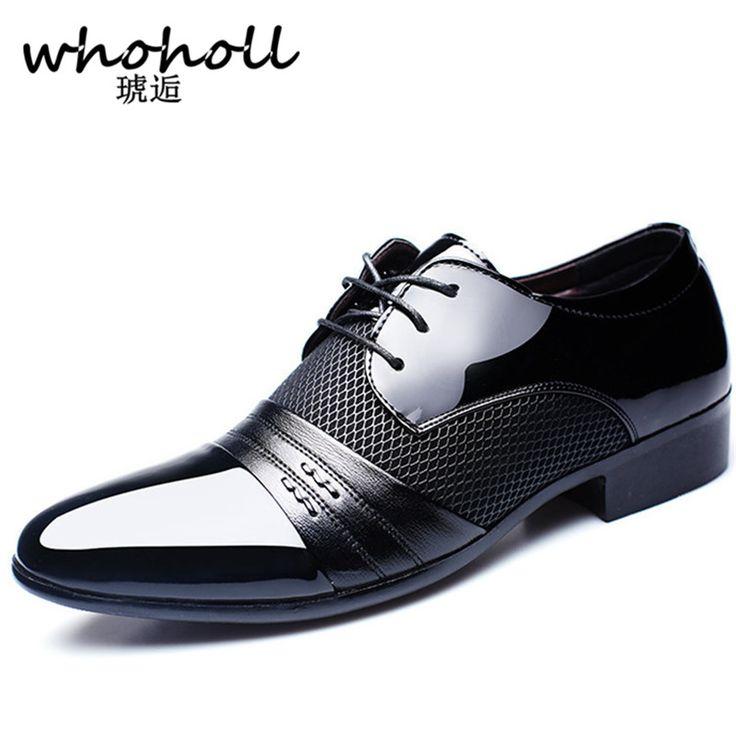 Whoholl <b>Men</b> dress <b>Height Increasing Men</b> Flats Breathable #Shoes ...