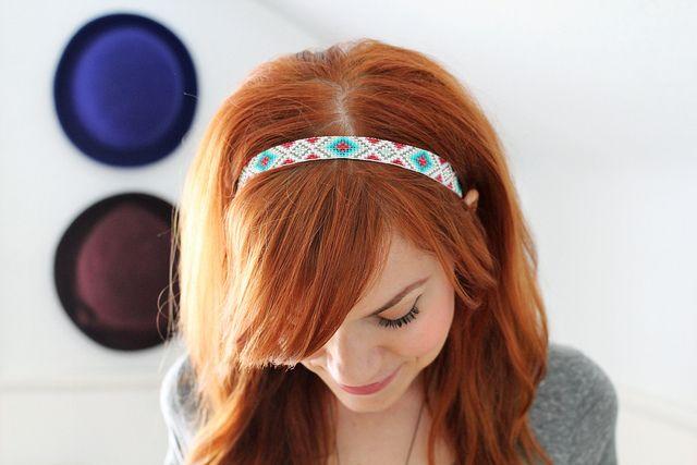 Handmade headband Under those neon lights etsy