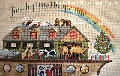 Noah's Ark cross stitch by Dimensions