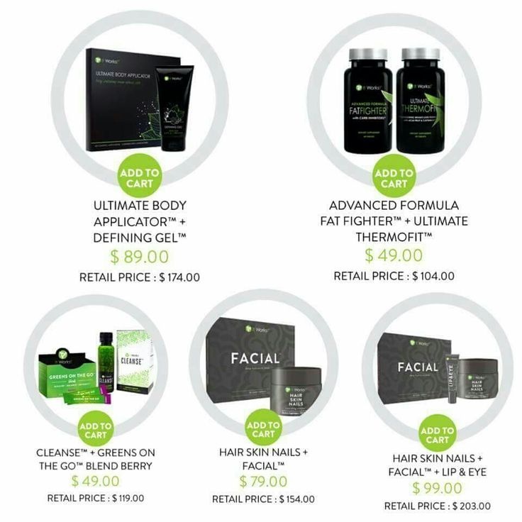 NEW PACKS!!   It Works! does it all for you ... decide which pack works best for YOU and place your order with ME!!