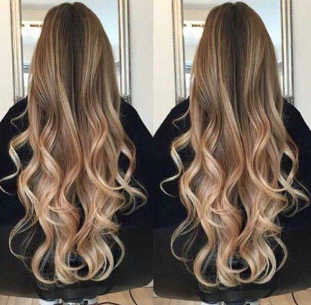 светлые волосы, вьющиеся волосы, цели, волосы, длинные волосы, омбре