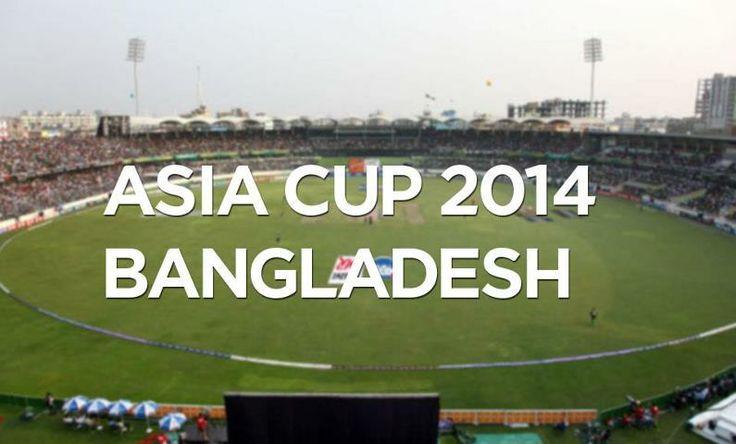 Asia cup 2014 schedules - Sports Info   Sports Info