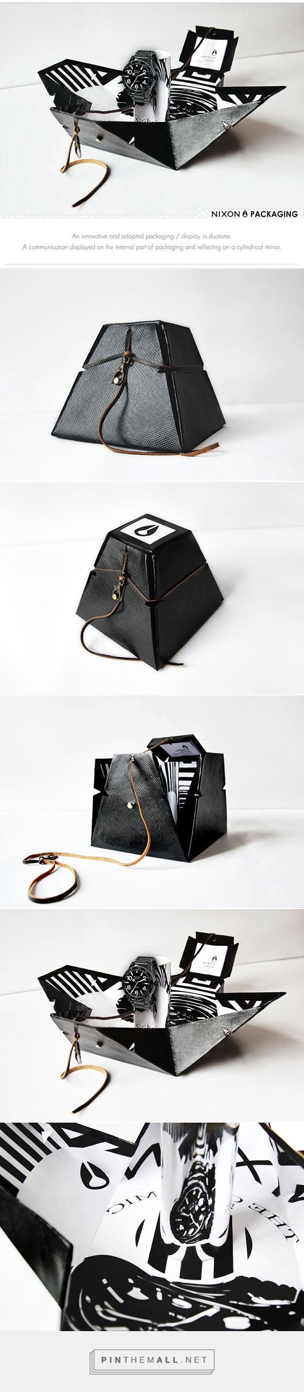 Nixon - Packaging / Display on Behance... - a grouped images picture - Pin Them…