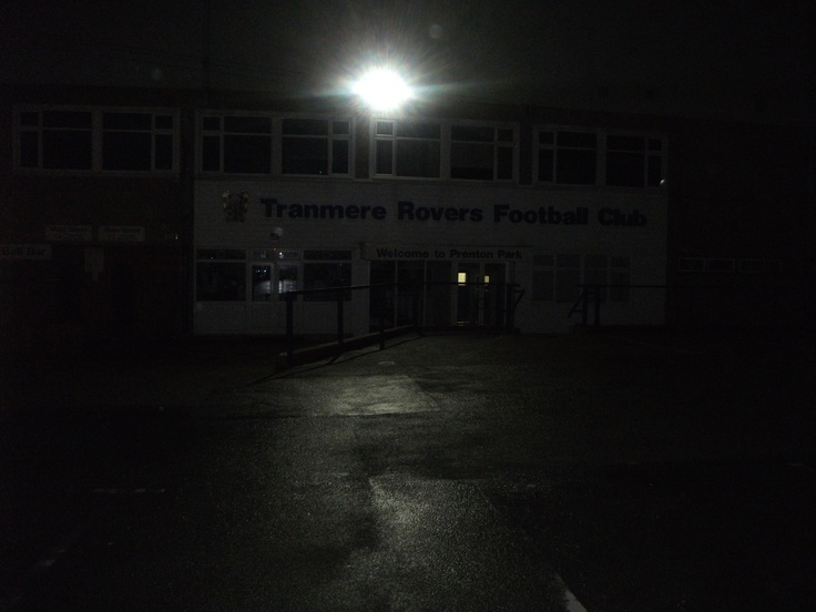 Tranmere Rovers FC: Prenton Park