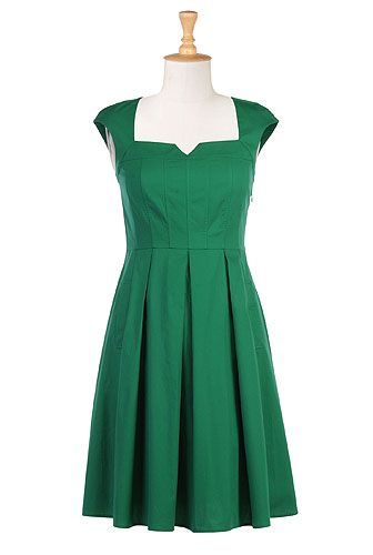 Be a sweetheart dress: Fashion Dresses, Dresses Style, Bridesmaid Dresses, Cute Dresses, Green Dress, Cap Sleeve, Eshakti With, Sweetheart Dresses, Sweetheart Neckline