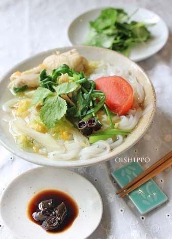 お袋の味は手作りフォー麺? by おいしっぽさん   レシピブログ - 料理 ...