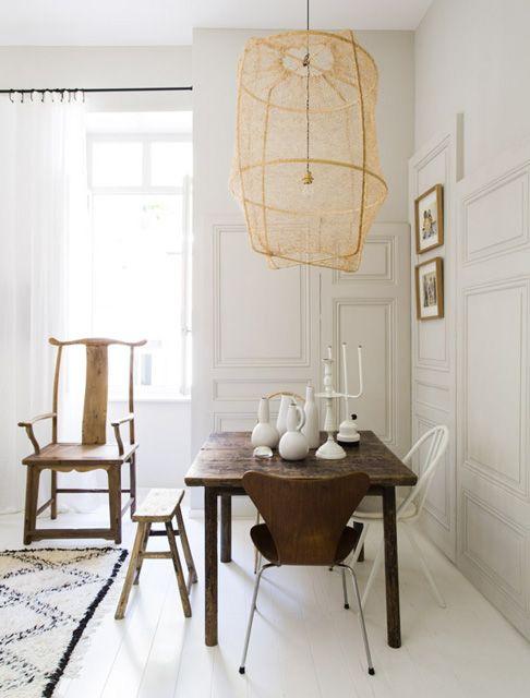 Métissage de mobilier ancien et récent Crédit Romain Ricard pour Maison Hand