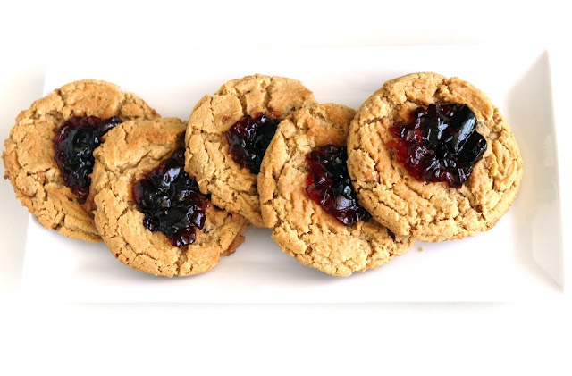 Peanut Butter and Jelly Cookies | Cookies | Pinterest