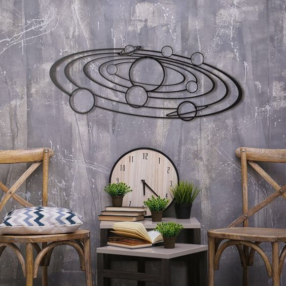 Decoration murale métal galaxie pour un intérieur unique découvrez nos collections sur artwall and co