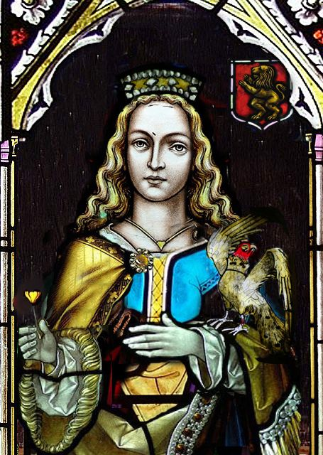 ALIENOR OF AQUITAINE  DUCHESSE D'AQUITAINE QUEEN OF ENGLAND by the lost gallery, via Flickr