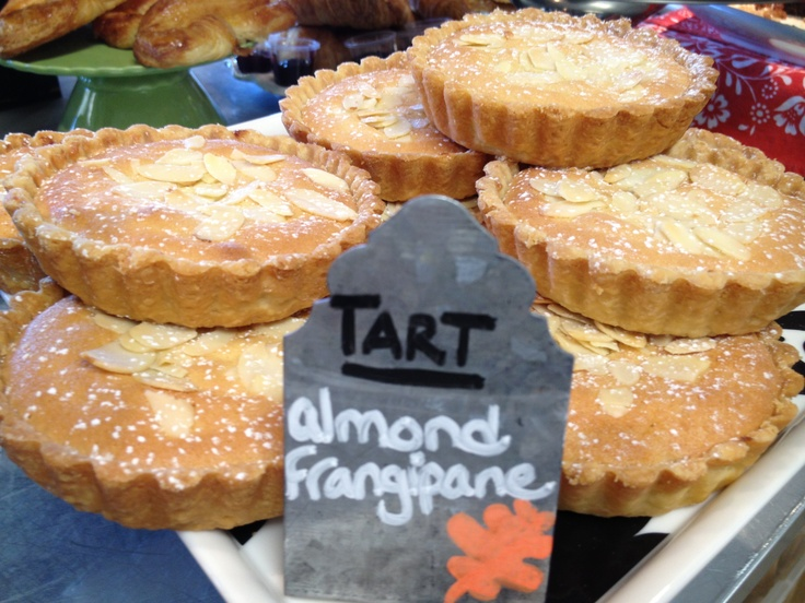 Frangipane tart, Roosters and Bakeries on Pinterest