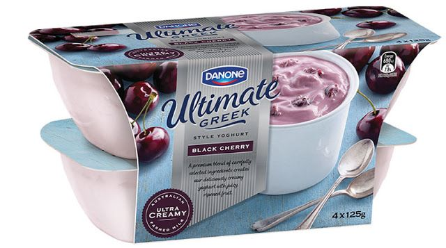 Danone Greek Style Yoghurt on Packaging of the World - Creative Package Design Gallery
